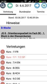 Lenné - Schule Potsdam captura de pantalla 1