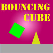 boucing cube icon