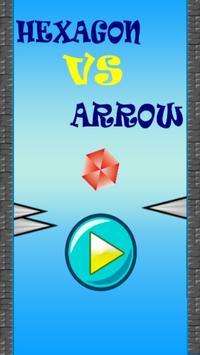 Hexagon vs Arrow poster