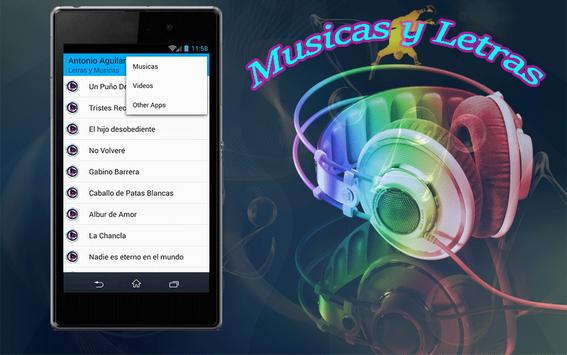 Antonio Aguilar Canciones apk screenshot