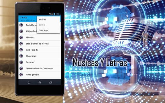 Camila - Todo Cambió apk screenshot