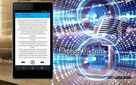 Fito Paez Canciones apk screenshot
