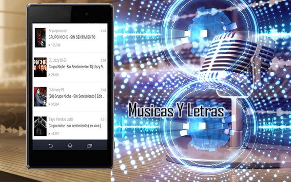 Grupo Niche Canciones y Letras apk screenshot
