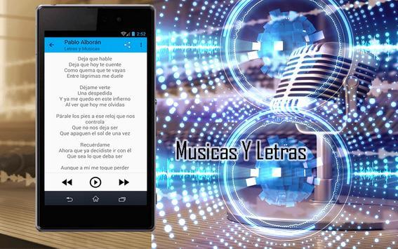 Pablo Alborán Canciones screenshot 2