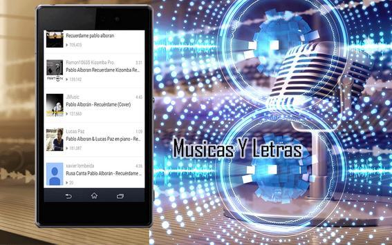Pablo Alborán Canciones screenshot 3