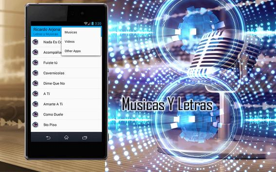 Ricardo Arjona Canciones apk screenshot
