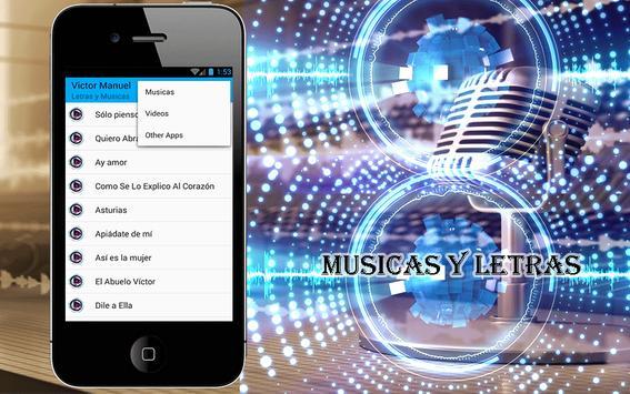Victor Manuel Canciones screenshot 1