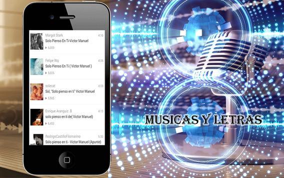 Victor Manuel Canciones screenshot 3