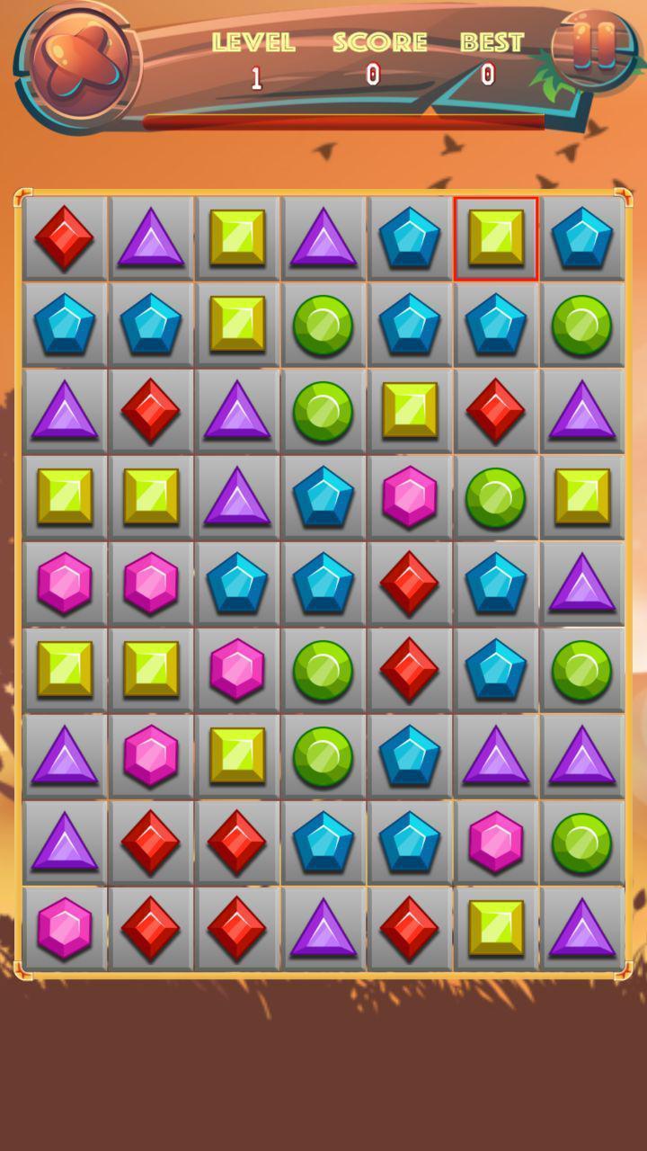 Jewels World Game