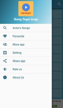 Benny Dayal Hit Songs Lyrics apk screenshot