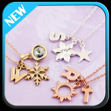 Letter Necklace Design apk screenshot