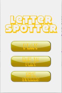 Letter Spotter poster