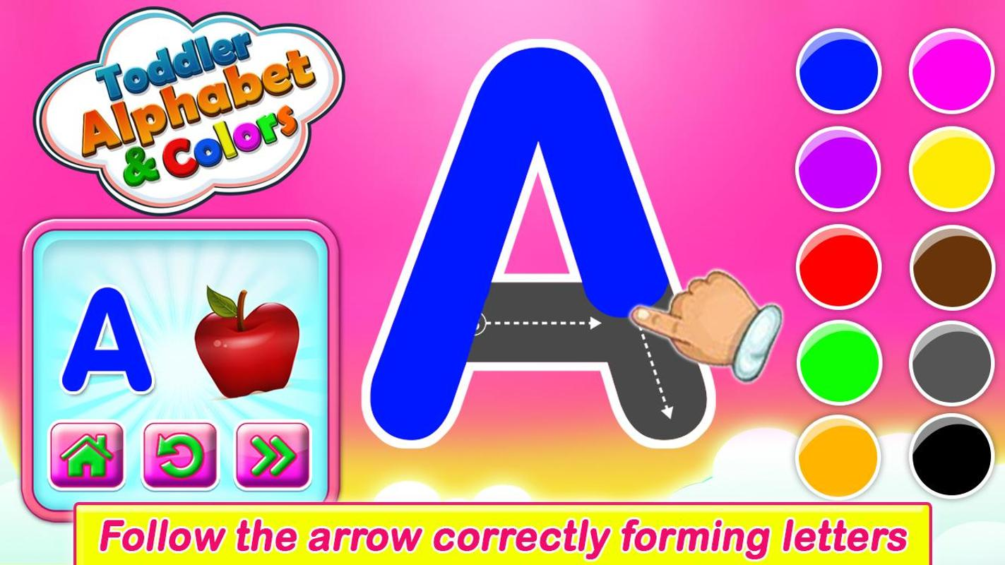ABC Alphabet - Letter Tracing & Learning Colors for Android - APK ...