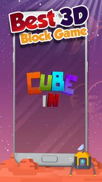 Cube In: The puzzle game with the 7 pieces poster
