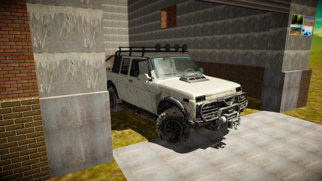 Offroad Russian Cars 4x4 Simulator poster