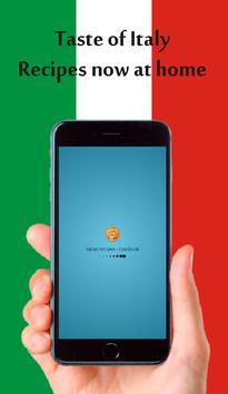 Italian Recipes - Cookbook poster