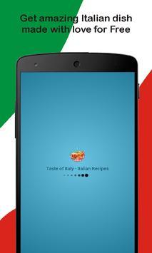 Taste of Italy - Italian Recipes poster