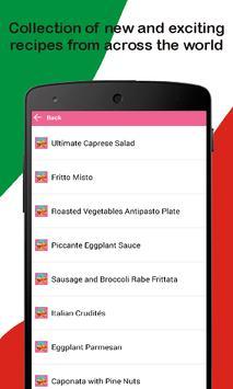 Taste of Italy - Italian Recipes screenshot 2