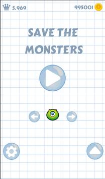 Save the monsters : Try Hard ! apk screenshot