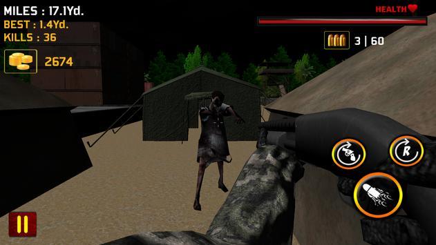 Zombie Jungle Hunter apk screenshot