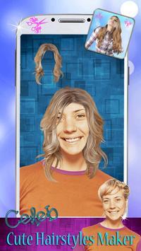 Celeb Cute Hairstyles Maker apk screenshot