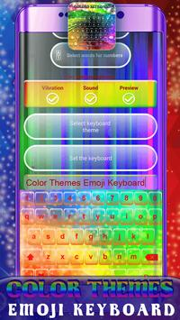 Color Themes Emoji Keyboard screenshot 4