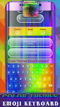 Color Themes Emoji Keyboard screenshot 5