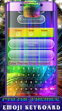 Color Themes Emoji Keyboard screenshot 6