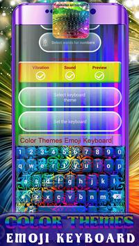 Color Themes Emoji Keyboard screenshot 7