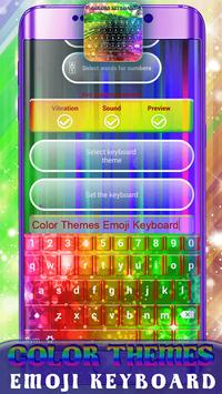 Color Themes Emoji Keyboard screenshot 3
