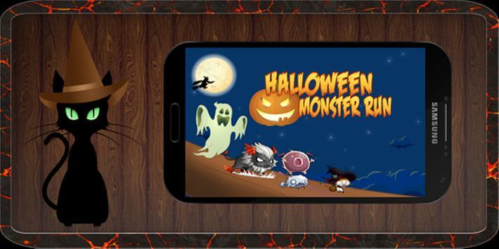 Halloween Monster Run poster