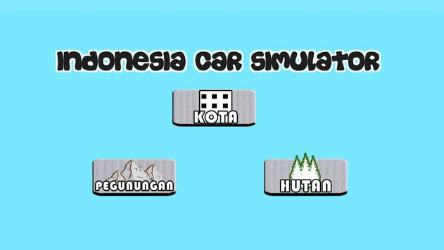 Indonesia Car Simulator poster