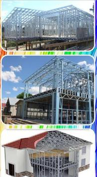 Lightweight steel roof truss design screenshot 4