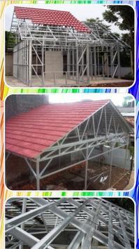 Lightweight steel roof truss design apk screenshot