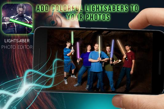 Lightsaber Photo Maker PRO poster