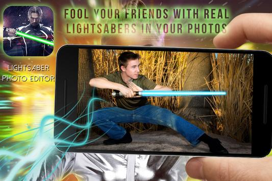 Lightsaber Photo Maker PRO apk screenshot