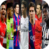 FOOTBALL Players HD Wallpapers icon
