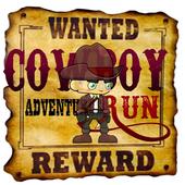 CowBoy Adventures Run icon