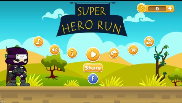 Super Scream Hero Run poster