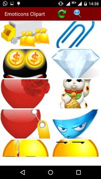 Emoticons Clipart screenshot 1