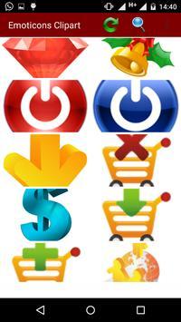 Emoticons Clipart screenshot 2