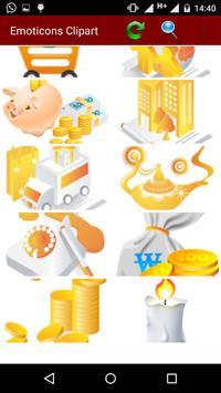 Emoticons Clipart screenshot 3