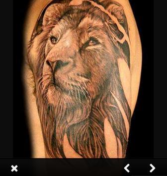 Lion Tattoo Designs For Guys screenshot 5