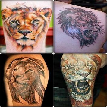 Lion Tattoo Designs For Guys screenshot 3