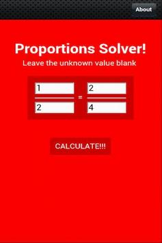Proportion Solver for Android - APK Download