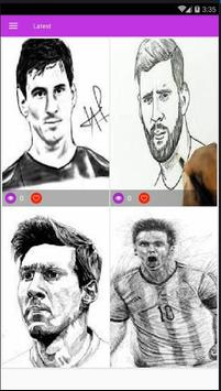 Lionel Messi Line Art Hd Wallpapers poster