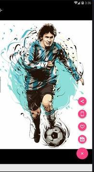 Lionel Messi Line Art Hd Wallpapers apk screenshot