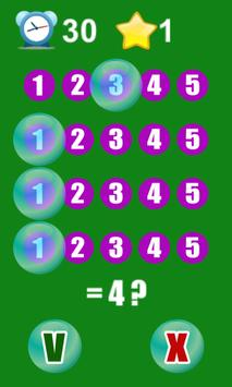 Crazy Math Bubble screenshot 3