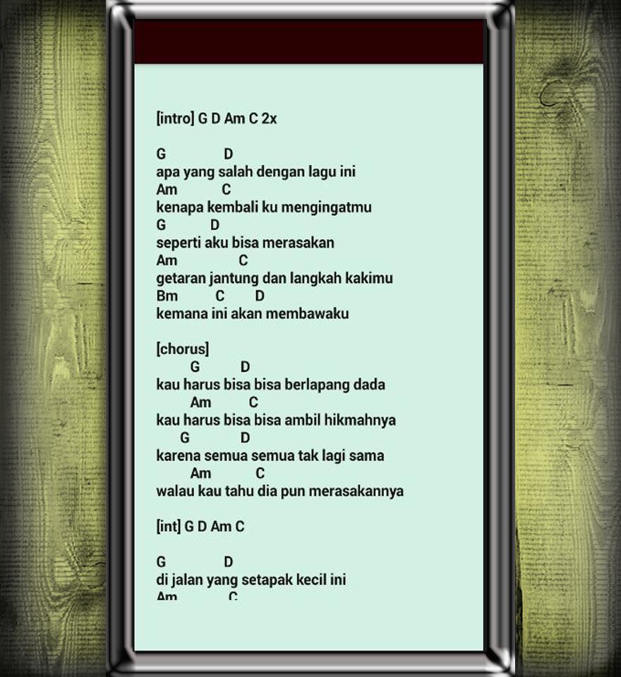 Kunci Gitar Full Lengkap Fur Android Apk Herunterladen