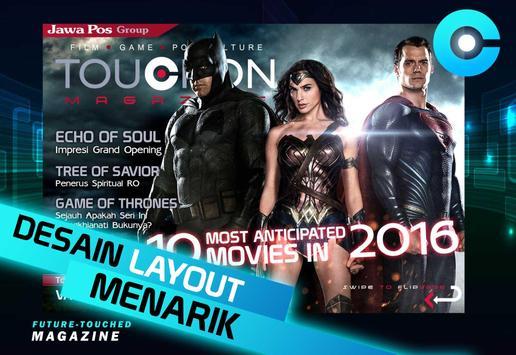 TouchOn Magazine poster